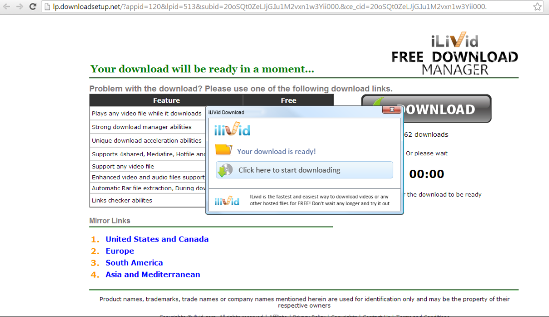 Yes, it improves your ability to download. Their crap.