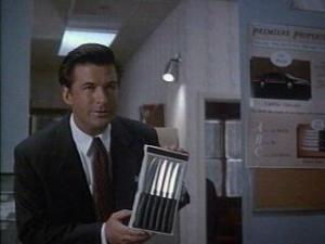 First prize is a Cadillac el Dorado, second prize is a set of steak knives, third prize is you're fired.