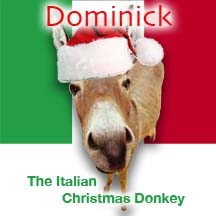 here in the nostrikethat household christmas traditions are serious business - Dominick The Italian Christmas Donkey